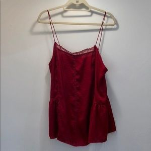NWT delicate lace camisole